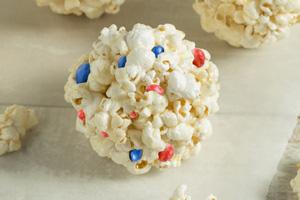 4th of July Popcorn Balls